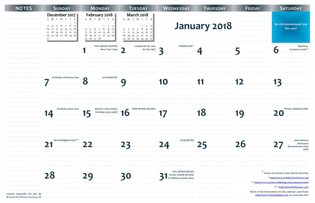 2018 1117 printable wall calendar pdf format jazzsoup42 printable 11x17 calendar with lines