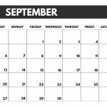 2020 Free Monthly Calendar Template Paper Trail Design 8 5 X 11 Printable September 2020 Calendar