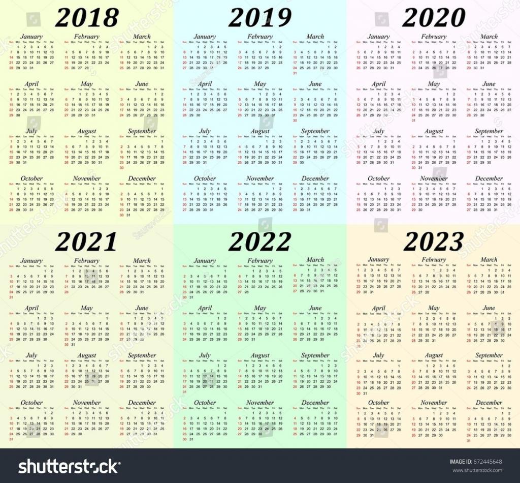 5 year calendar printable with images printable calendar five year calnadar
