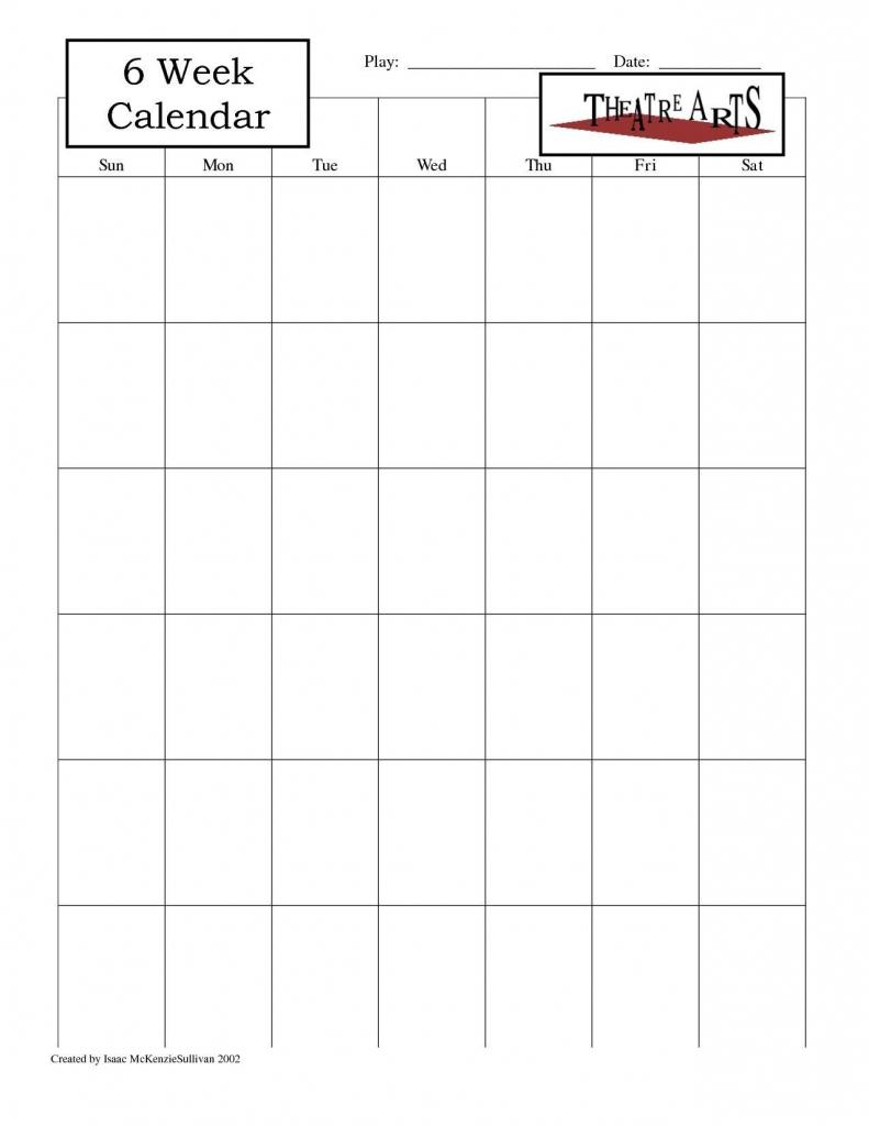 blank 6 week calendar thekpark hadong dowload blank free printable 6 week calendar