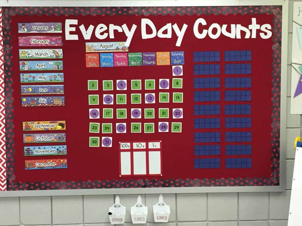 Every Day Counts Calendar Math First Grade Added A White Everyday Counts Calendar Math  Grade 1