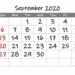 Free Printable Calendar 2020 September Free Printable 2020 Printable 11 X 17 Calendar September 2020
