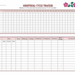 Helping Your Daughters Keep Track Of Their Menstrual Cycle Period Calendar For Kids