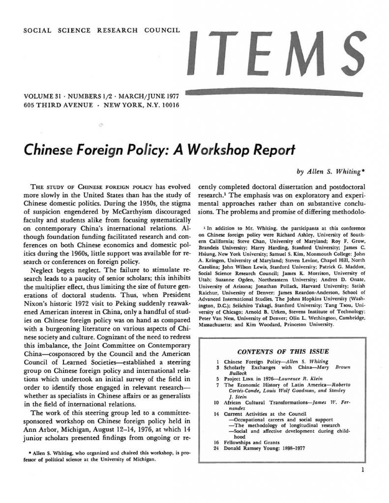 items vol 31 no 1 2 1977 ssrcs items issues issuu bridgewater temple calendar 1977