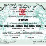 Iz1esm Vhf Activity And More From Jn45fb Ham Radio Contest For Oct. 2020