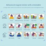 Magnetic Time Management Table Animal Calendar Clock With Weather Season Owl Game Board For Kids Learning Educational Toys Period Calendar For Kids