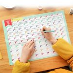 New 100 Day Countdown Calendar Learning Schedule Periodic Countdown School Calendar For Kids