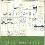 See 4 Months Of Brett Kavanaughs Calendar From 1982 Pbs 10000calender.com