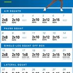 The 28 Day Squat Plan Youll Want To Start Now Myfitnesspal Jj Smith 30 Day Squat Challenge Printable