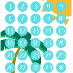 Vacation Countdown Calendars Vacation Countdown Beach Printable Clendar Countdown For Kids Vacation