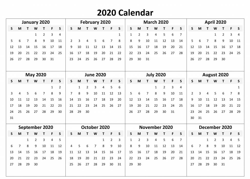 yearly calendar 2020 free download calendar printables 12 12 month printable fill in