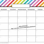 11×17 Calendar Template Word Blank Calendar 11×17 1