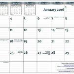 11×17 Monthly Calendar Printable Monthly Calendar Blank 2020 Blank Calendar 11×17