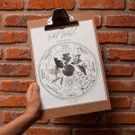 2020 Sabbat Calendar Digital Wheel Of The Year Wiccan Etsy Wiccan Calendar 2020 Printable