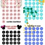 Free Vacation Countdown Calendars For Your Next Beach Printable Count Down Vacation Calandar