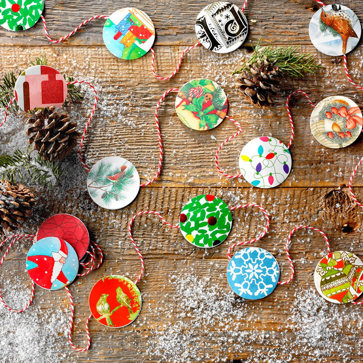 10 Gorgeous Holiday Crafts To Make Using Old Christmas