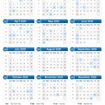 10 years calendar from 2020 calendar template printable 1