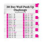 100 Pushup Challenge Chart Slideshare