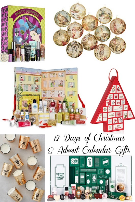 12 Days Of Christmas And Advent Calendar Gifts With
