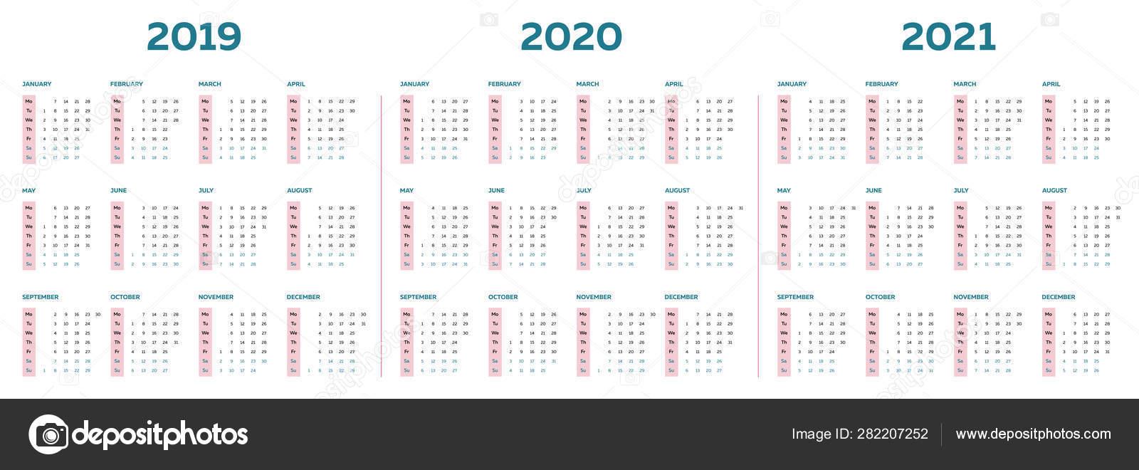 2 Column Calendar 2020 Calendar Printables Free Templates