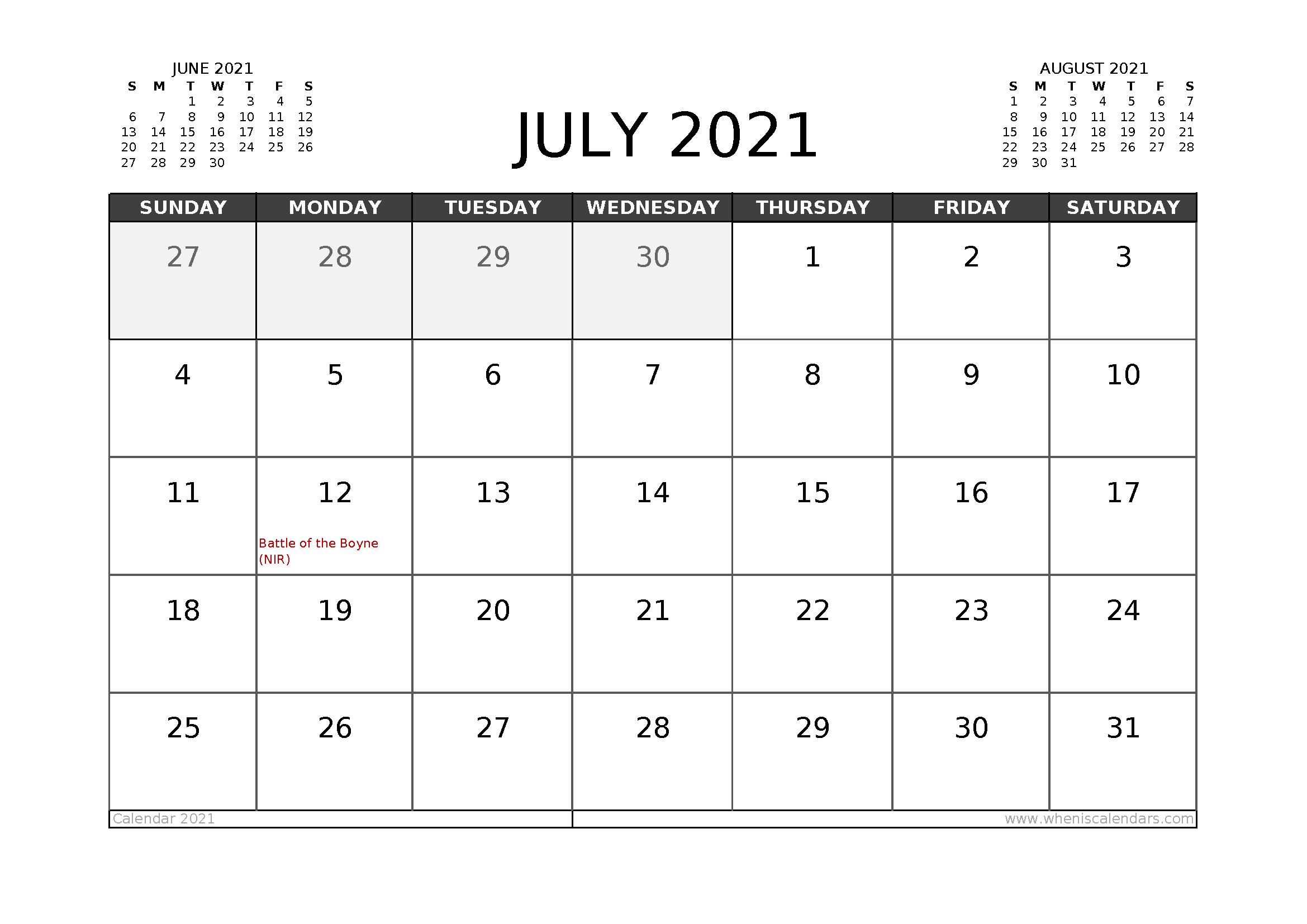 20 Calendar 2021 Easter Free Download Printable