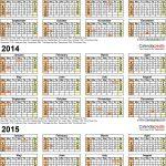2013 2015 three year calendar free printable excel templates