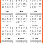 2016 Calendar Free Large Images Printable Calendar