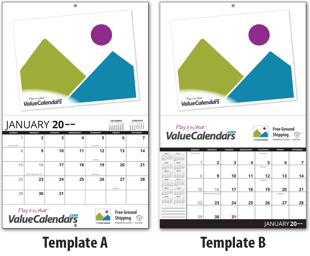 2017 13 Month Custom Photo Calendar Stapled 11 X 17