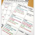 2019 2020 Calendar Printable And Editable With Free 1