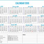 2019 Bank Holiday Calendar Calendar2019
