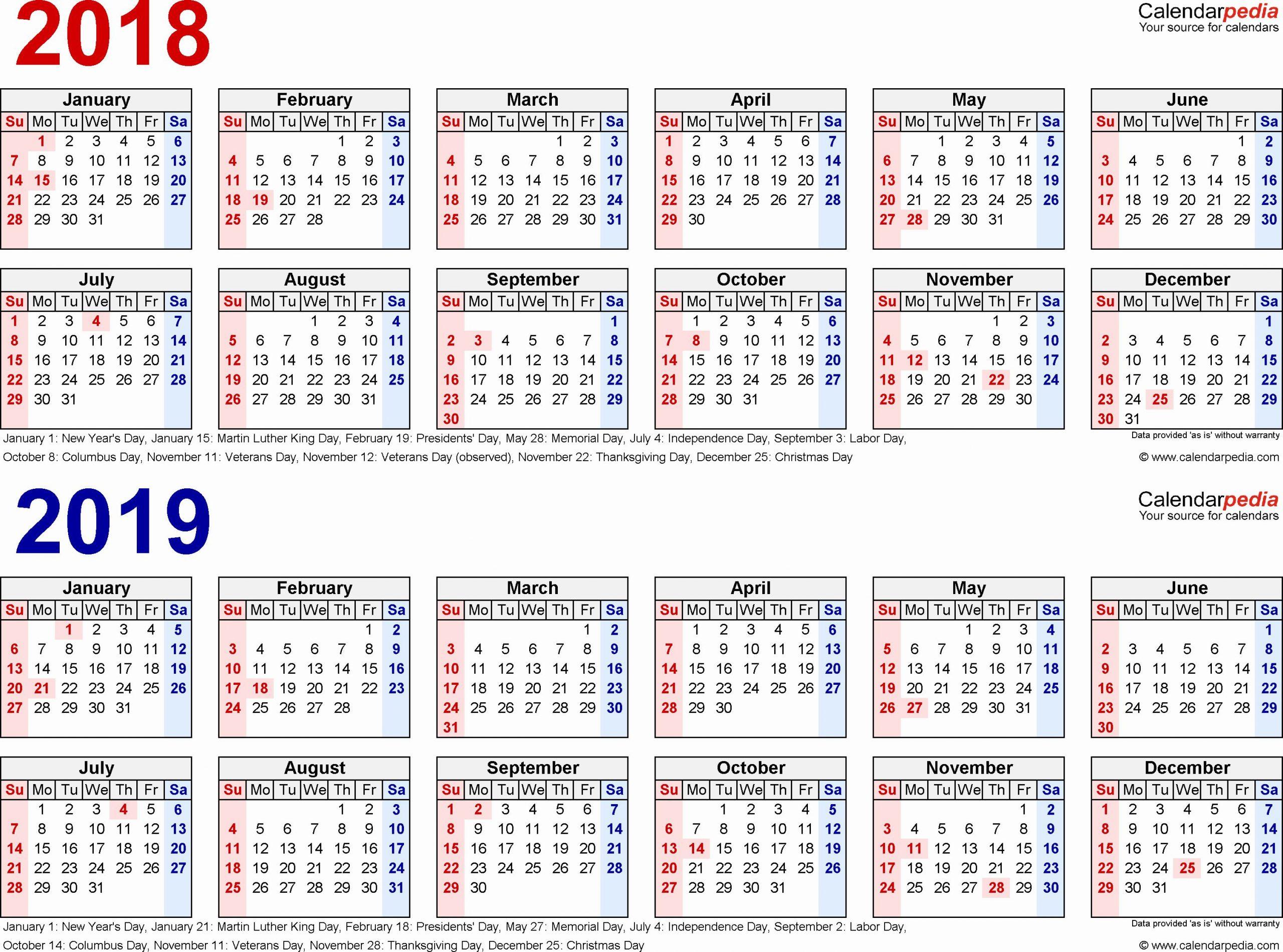 2019 biweekly payroll calendar template excel fresh 2018 1