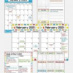 2020 2021 Calendar Printable And Editable With Free 1