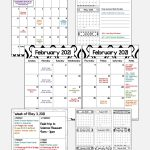 2020 2021 Calendar Printable And Editable With Free