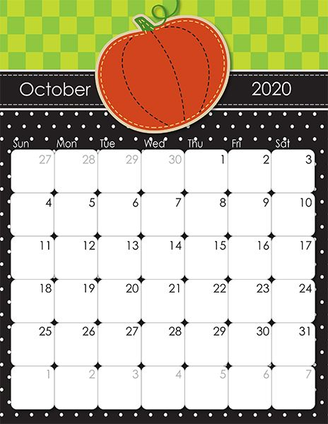 2020 And 2021 Whimsical Printable Calendars For Moms