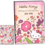 2020 Hello Kitty Journal Planner Schedule Calendar Book A6