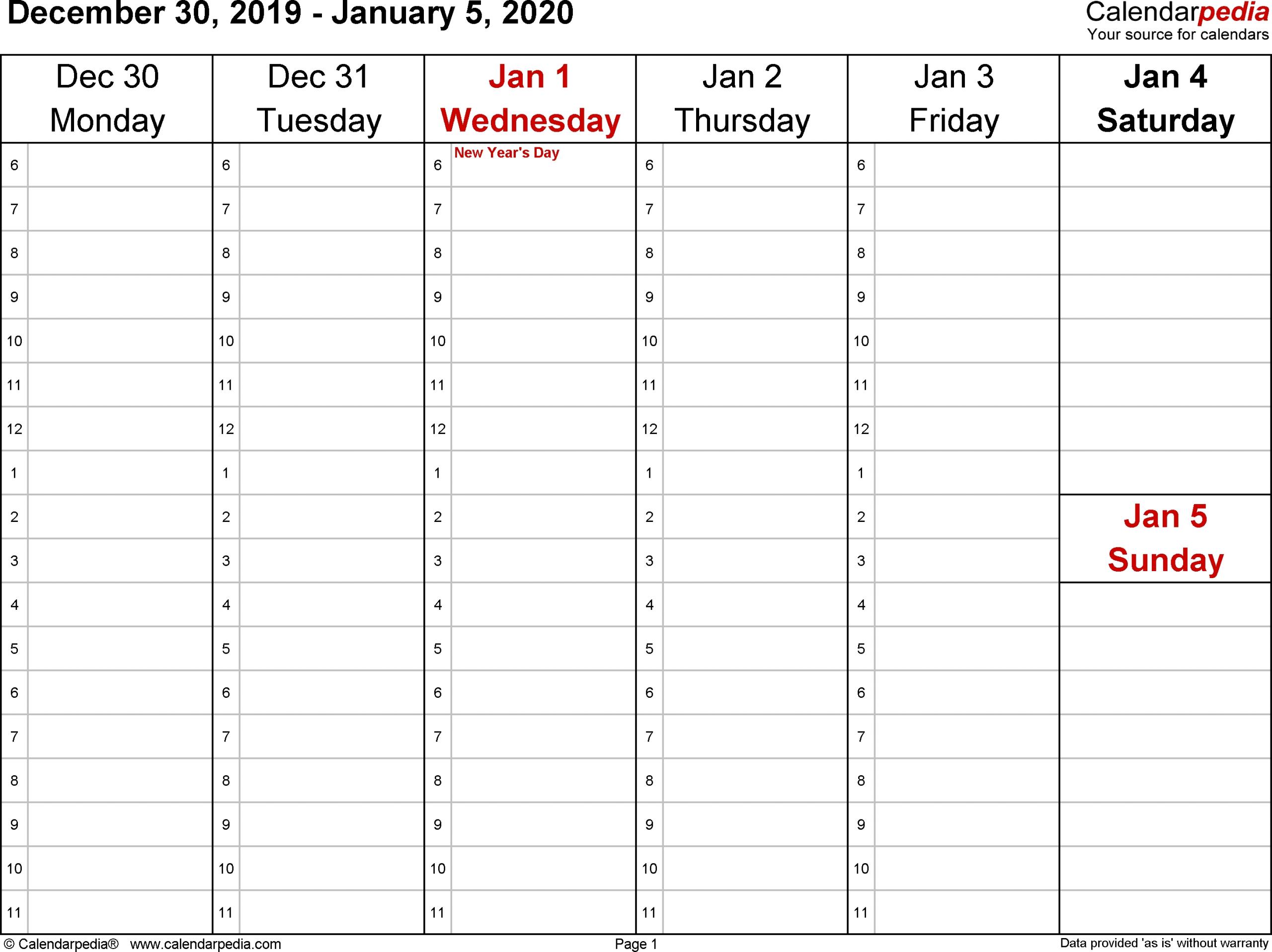 2020 week wise calendar calendar inspiration design