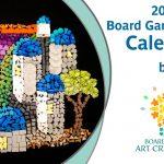 2021 Board Game Mosaic Calendar Crowdfinder