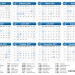 2021 calendar 1