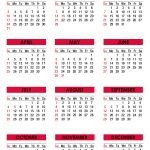 2021 Calendar With Holidays Printable Free Colorful