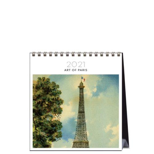 2021 Desk Calendar Art Of Paris Paper Republic