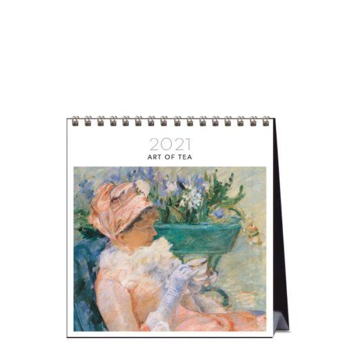 2021 Desk Calendar Art Of Tea Paper Republic 1