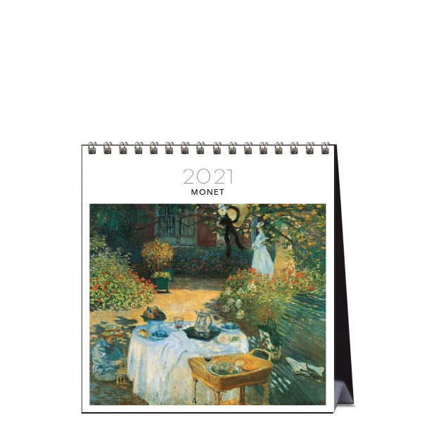 2021 Desk Calendar Monet Paper Republic