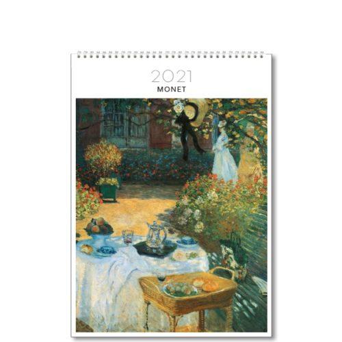 2021 Medium Wall Calendar Monet Paper Republic
