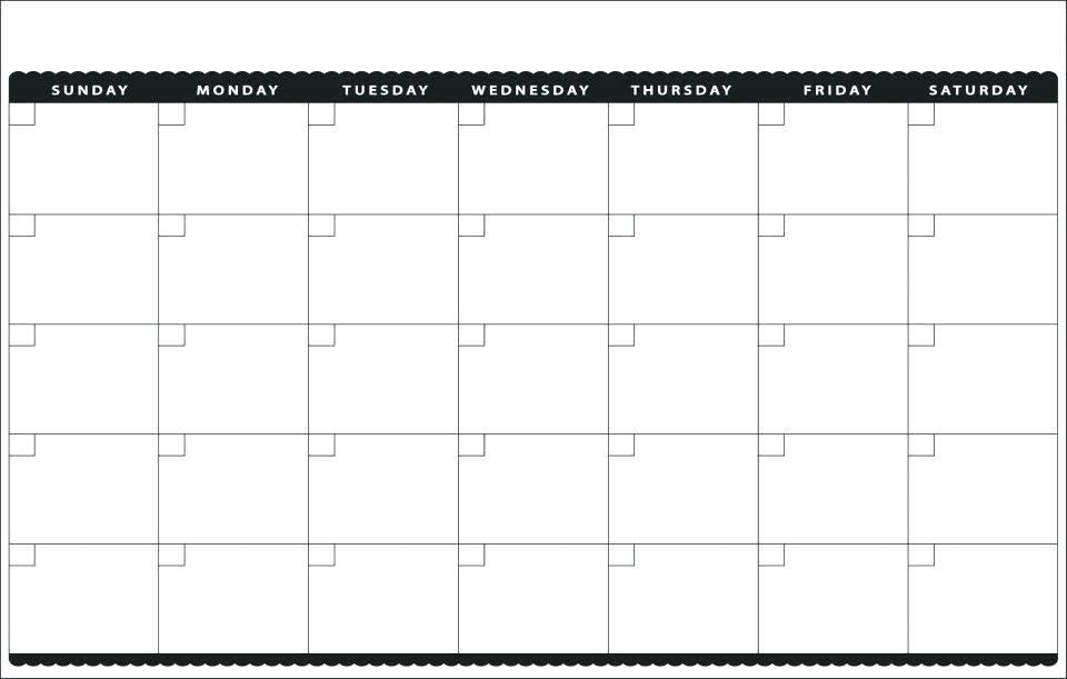 22 Useful Bill Calendars Kittybabylove