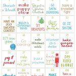 25 Days Of Christmas Activities Calendar Fun Christmas