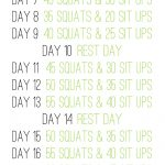 30 Day Ab And Squat Challenge You Need To Try Wanna Liv