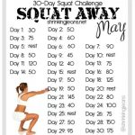 30 Day Squat Challenge 30 Day Squat Challenge