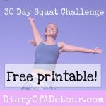 30 Day Squat Challenge Printable That Are Refreshing