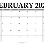 30 free february 2021 calendars for home or office