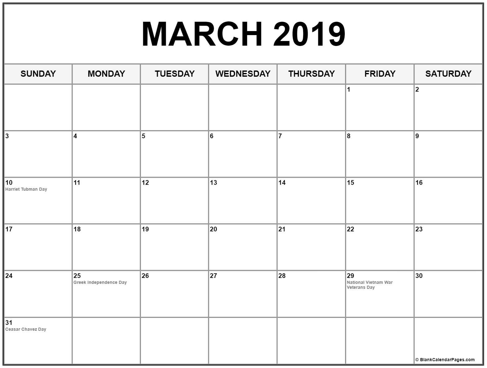 31 Day Blank Calendar Template Calendar Inspiration Design